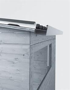 gartenhaus dach trapezblech gartenhaus pultdach dach