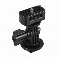 Cold Boot Shoe Adapter Inch by Adjustable Cold Shoe Mount Adapter With 1 4 Quot For