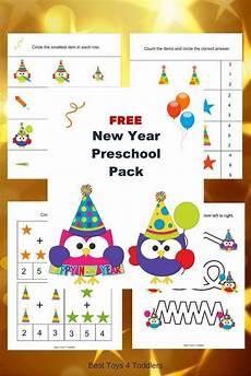 free new year printable for preschoolers kids learning activities toddler preschool