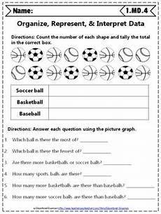 measurement and data worksheets for 1st grade 1415 1st grade md worksheets 1st grade math worksheets measurement data