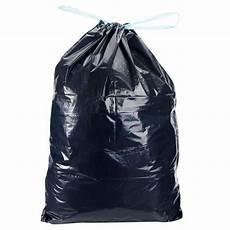 sacs poubelle avec lien coulissant