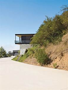 Modern Simple House Hill Architecture Design Bruce Bolander Architect
