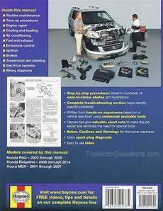 small engine service manuals 2007 honda ridgeline free book repair manuals honda ridgeline pilot acura mdx repair manual 2001 2014 haynes 42037