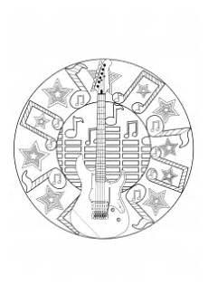 musik instrumente malbuch fur erwachsene