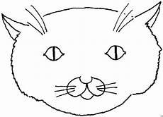 Malvorlagen Katzenkopf Katzenkopf 2 Ausmalbild Malvorlage Katzen