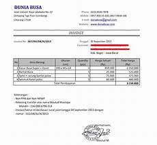 contoh format invoice atau surat tagihan brankas arsip 4 egrafis