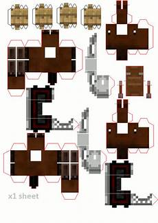 papercraft castle for your minis minecraft crafts paper