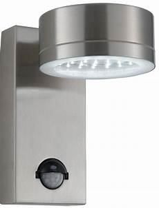 modern led stainless steel outdoor pir wall light 9550ss