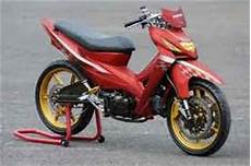 Modifikasi Honda Revo Fit by Modifikasi Honda Revo 110 Fit Absolute Drag Sederhana Tapi