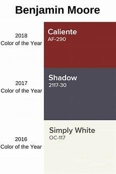 benjamin moore caliente af290 2018 color of the year