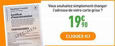 service carte grise changement d adresse demenagement carte grise