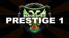 in black 2 prestiging in black ops 2 prestige 1