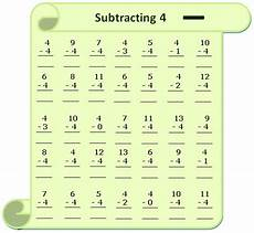 subtraction worksheets and answers 9985 worksheet on subtracting 4 questions based on subtraction subtraction table