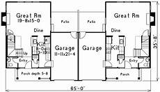 two storey duplex house plans compact two story duplex 57088ha architectural designs