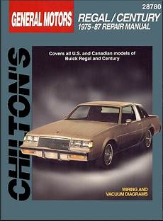 free online car repair manuals download 1987 buick skyhawk on board diagnostic system buick regal century repair manual 1975 1987 chilton 28780