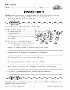 parallel structure education world