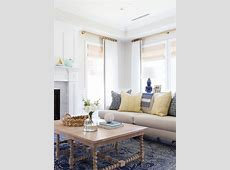 {Inspired By} Blue Patterned Statement Rugs   The Inspired
