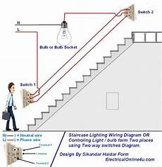 two way light switch diagram staircase wiring diagram home electrical wiring house wiring