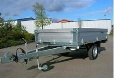 pkw anhänger 1200 kg gebremst gebraucht pkw anh 228 nger brenderup hochlader 4260b 1200 kg gebremst in