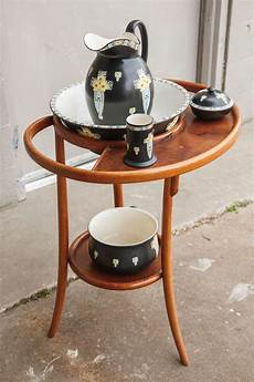 Thonet Style Bentwood Table De Toilette With Five