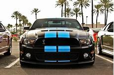 Wallpaper Mustang Blue Car by Ford Mustang Cars Blue Stripes Black Paint