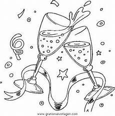 Malvorlagen Silvester Gratis Silvester 03 Gratis Malvorlage In Feste Silvester Ausmalen