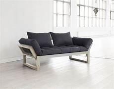 divano futon divano letto futon edge karup in legno naturale