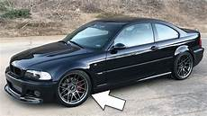 e46 m3 looks with new wheels