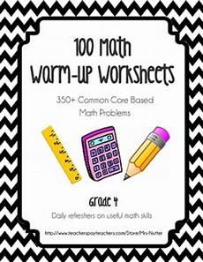 basic worksheets 19294 math worksheets warmups 100 worksheets by mrs nutter tpt