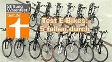 test e bikes 5 versagen im h 228 rtetest