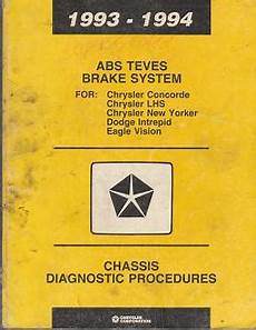 car service manuals pdf 1994 eagle vision free book repair manuals 1993 1994 chrysler concorde lhs new yorker dodge intrepid eagle vision chassis