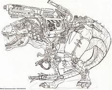 mecha tyrannosaurus rex by titanosaur on deviantart