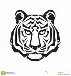 tigerhauptschattenbildzeichen tigerhauptt 228 towierungskunst