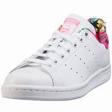 adidas stan smith w womens trainers in white tropical