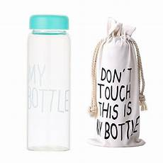 everyone is using my bottle comes with a choice of bag or