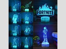 #BattleRoyale Game #Fortnite 3D LED Night Light Action