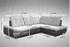 schlafsofa sofa ecksofa eckcouch in grau mit