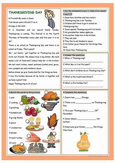 thanksgiving worksheets 18483 thanksgiving day worksheet free esl printable worksheets made by teachers