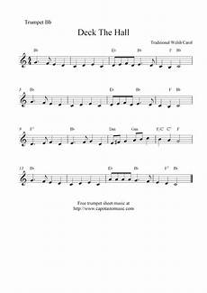 deck the halls trumpet sheet music free deck the halls free christmas trumpet sheet music