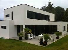 maison contemporaine bretagne maison toit plat bretagne