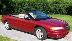 how to learn all about cars 1997 chrysler lhs user handbook buy used 1997 chrysler sebring convertible in orlando florida in orlando florida united
