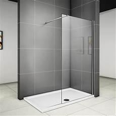 Begehbare Dusche Breite - 90 x 185 cm walk in dusche duschabtrennung duschwand glas