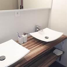 plan de travail salle de bain lapeyre plan de travail ch 234 ne brun massif fran 231 ais choix 26 32 38mm