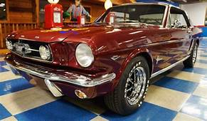 1965 Ford Mustang Coupe – Maroon A&ampE Classic Cars
