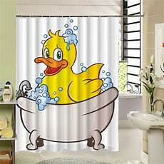 yellow duck shower curtain charmhome shower curtain yellow duck bathroom