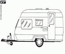ausmalbilder eine wohnwagen zum ausdrucken wohnwagen