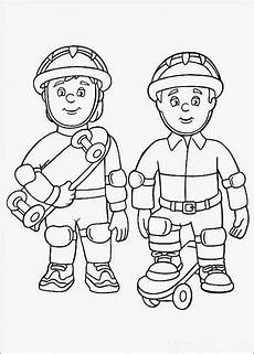 coloring pages fireman sam coloring pages