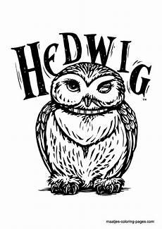 Ausmalbilder Eule Hedwig Harry Potter Eule Ausmalbilder