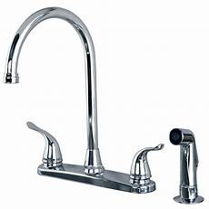 kitchen faucet classic high arc swivel kitchen faucet with side spray chrome finish ebay
