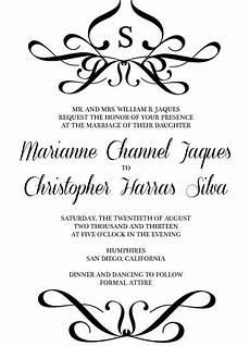 Proper Edicate For Wedding Invitations